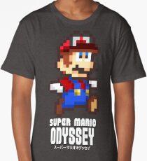 Super Mario Odyssey - Pixel Art! Long T-Shirt
