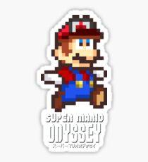 Super Mario Odyssey - Pixel Art! Sticker