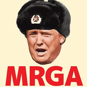 Make Russia Great Again - MRGA - Donald Trump by baridesign