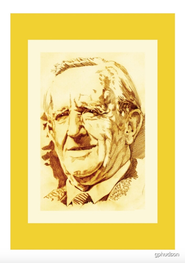 J. R. R. Tolkien (golden) by gphudson