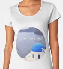 Santorini (Greece) Women's Premium T-Shirt