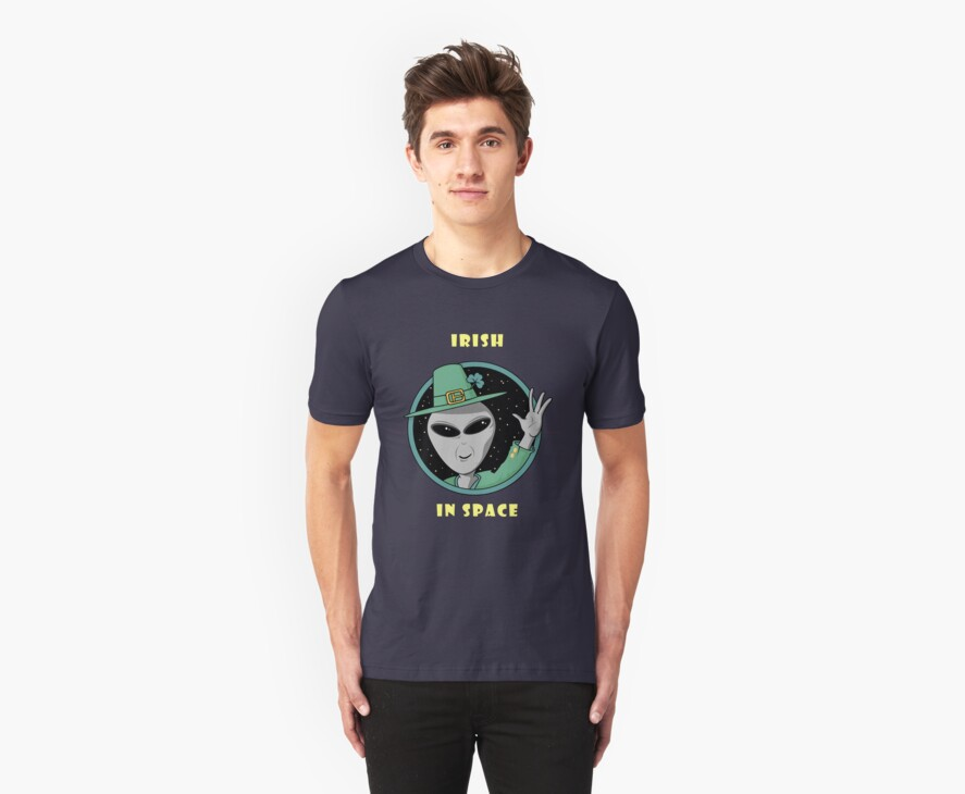 Irish in Space T-Shirt by Che Dean
