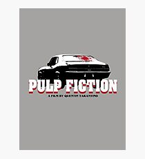 Pulp Fiction O Man I Shot Marvin In The Face Tshirt Photographic Print