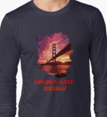 Golden Gate Bridge - San Francisco Long Sleeve T-Shirt