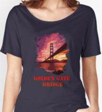 Golden Gate Bridge - San Francisco Women's Relaxed Fit T-Shirt
