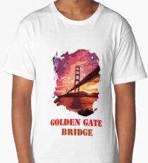 Golden Gate Bridge - San Francisco Long T-Shirt