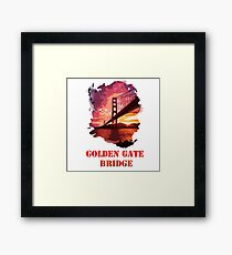 Golden Gate Bridge - San Francisco Framed Print