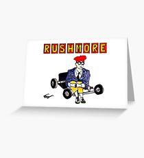 Rushmore Film Greeting Card