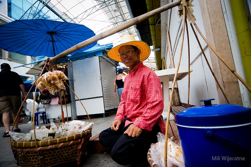 Seller in Phuket by Mili Wijeratne
