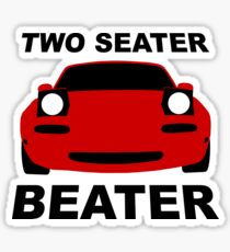 TWO SEATER BEATER Sticker