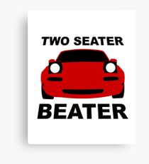 TWO SEATER BEATER Canvas Print