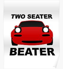 TWO SEATER BEATER Poster