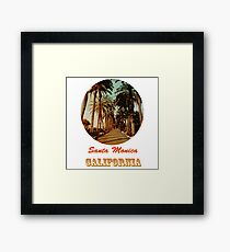Santa Monica - California Framed Print