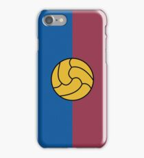 FC Barcelona Design - Traditional Red & Blue iPhone Case/Skin