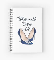 what would carrie do?  Spiral Notebook