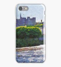 Enniscorthy town & Castle, Co. Wexford, Ireland iPhone Case/Skin