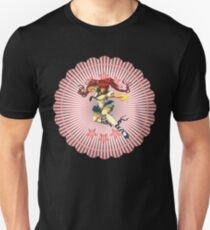 anime fighting schoolgirl T-Shirt