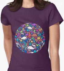 Animal Crackers Womens Fitted T-Shirt