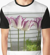 Fashion Tulips Graphic T-Shirt