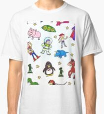 toy story pattern Classic T-Shirt