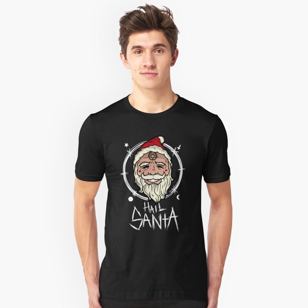 Hagel Sankt (dunkle Stoffe) Slim Fit T-Shirt