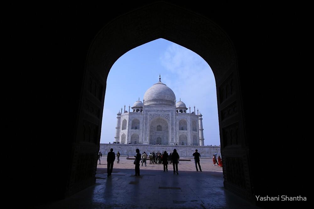 taj Mahal 2 by Yashani Shantha