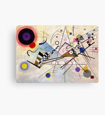 Composition VIII by Kandinsky Canvas Print