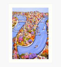 Brisbane bound Art Print
