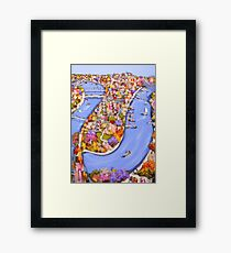 Brisbane bound Framed Print