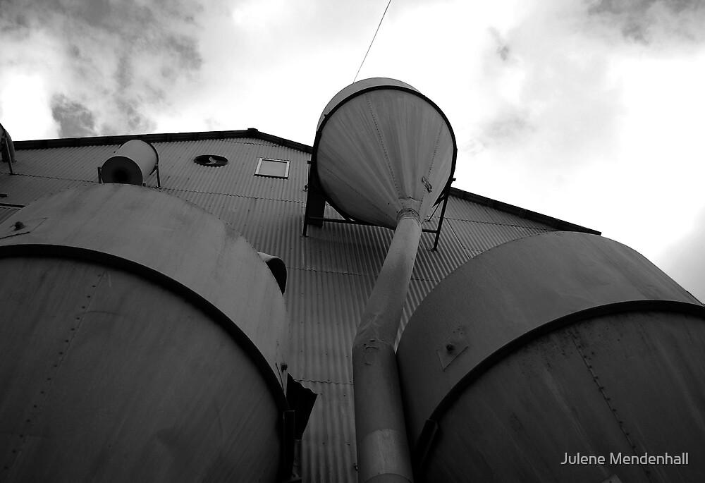 Old Mill by Julene Mendenhall