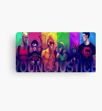 Young Justice 2 Canvas Print