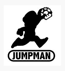 Jumpman Photographic Print