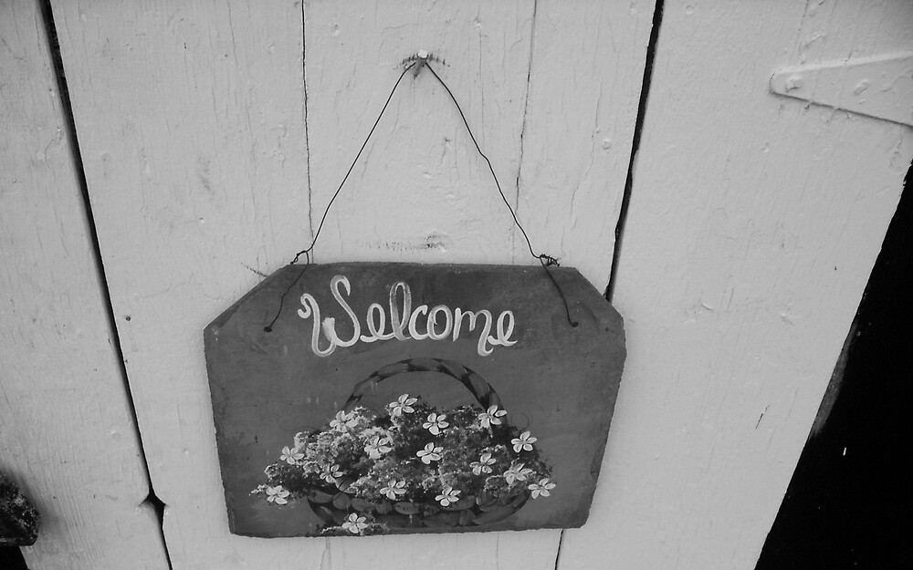 Welcome by Rebecca Ogden