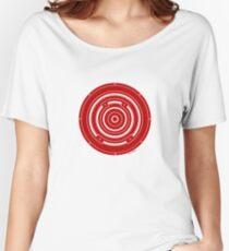 Mandala 37 Bass Colour Me Red Women's Relaxed Fit T-Shirt