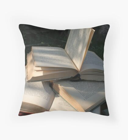 Story of life Throw Pillow