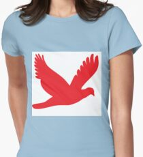 Red Eagle Womens Fitted T-Shirt