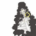 The All seeing eye- Female illustration  by BerriesArt