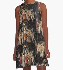 Primavera, by Botticelli A-Line Dress