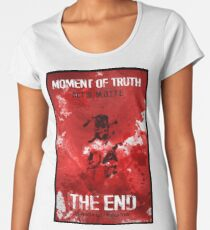moment of the truth : act iii motte Women's Premium T-Shirt