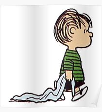 The Peanuts - Linus Poster