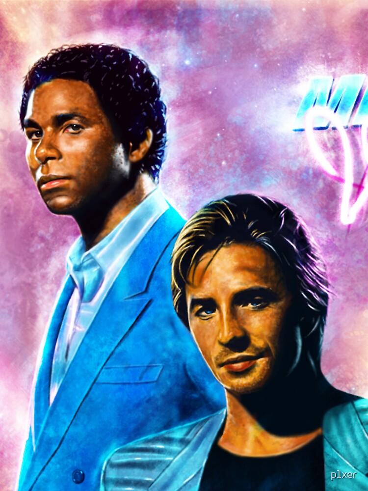 MIami Vice - Crockett und Tubbs von p1xer