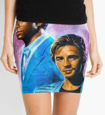MIami Vice - Crockett and Tubbs  Mini Skirt