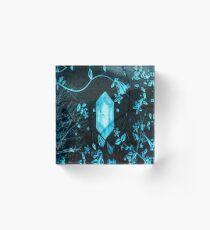 Freezing Flora Gem Acrylic Block