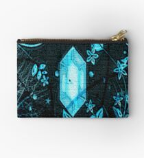Freezing Flora Gem Zipper Pouch