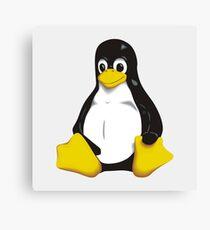 Linux - Tux Canvas Print