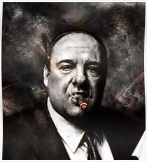 The Sopranos - Tony Soprano  Poster