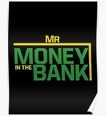 Mr money in the bank Poster