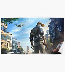 Watch Dogs 2 - Marcus Poster