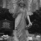 Tall grave angel by joelmeadows1