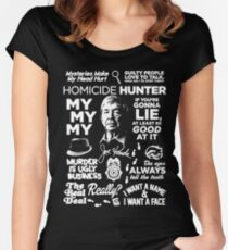 kenda hunter ugly Women's Fitted Scoop T-Shirt